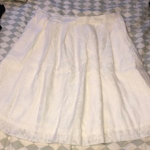 J. Crew Pleated Midi Skirt size 14